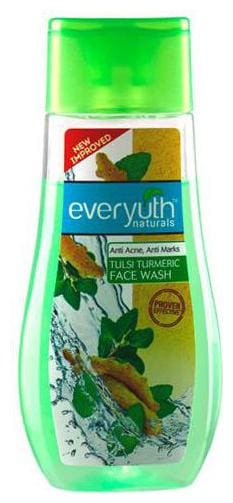 Everyuth Naturals Anti Acne Anti Marks Tulsi Turmeric Face Wash 100 gm
