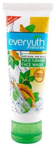 Everyuth Naturals Anti Acne Anti Marks Tulsi Turmeric Face Wash 50 gm