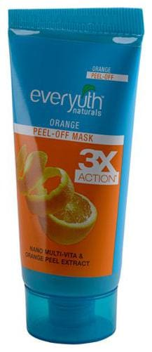 Everyuth Naturals Orange Peel-Off Mask With Nano Multi Vitamin-A 50 gm