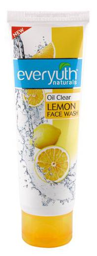 Everyuth Naturals Oil Clear Lemon Face Wash With Nano Vitamin-C 100 gm