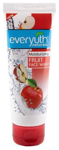 Everyuth Naturals Moisturizing Fruit Face Wash With Apple Extracts 50 gm