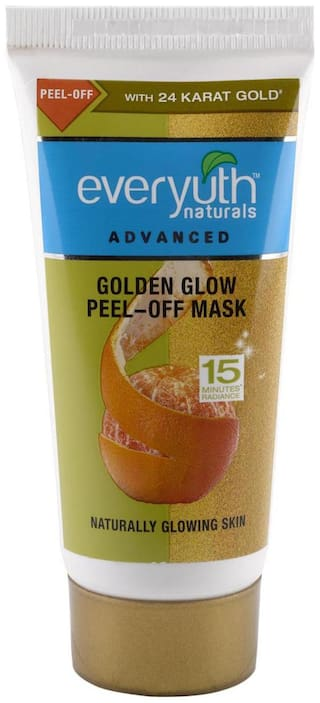 Everyuth Naturals Advanced Golden Glow Peel-off Mask With 24K Gold 50 gm