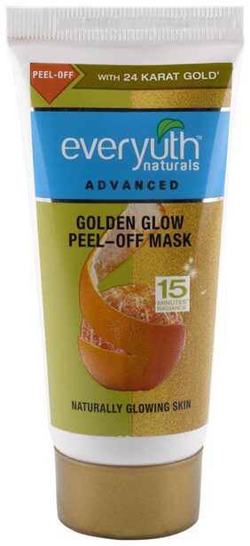 Everyuth Naturals Advanced Golden Glow Peel-off Mask with 24K gold 50g