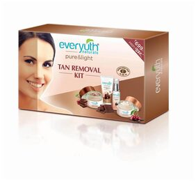 Everyuth Naturals Chocolate and Cherry Tan Removal Kit