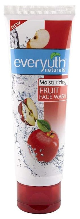 Everyuth Naturals Moisturizing Fruit Face Wash With Apple Extracts 100G