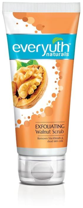 Everyuth Naturals Exfoliating Walnut Scrub With Nano Multi Vit A 100G