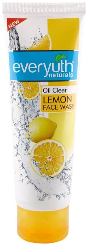 Everyuth Naturals Oil Clear Lemon Face Wash 100Gm (10 Gm Extra)