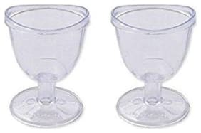 Eye Wash Cup Transferent Set Of 2