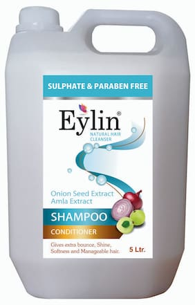 Eylin Soft Care Sulphate & Parben Free Shampoo 5 L (Pack of 1)