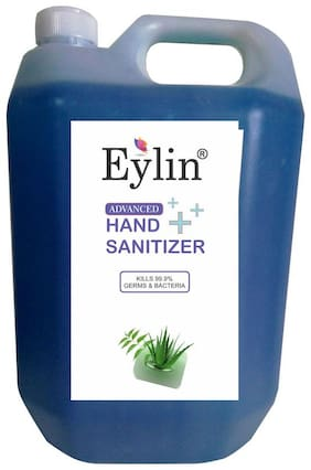 Eylin Soft & Smooth Hand Rub Sanitizer 5 L ( Pack of 1 )