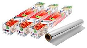 Ezee Silver Aluminium Foil 9 m 11 Micron Pack of 3