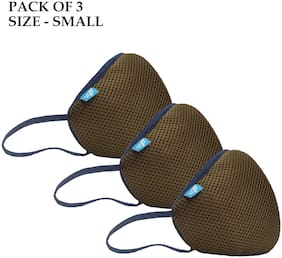 Pack of 3 Non Woven ( Brown )