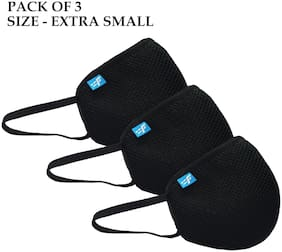 Pack of 3 Non Woven ( Black )