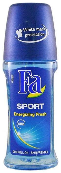 Fa Deo men sport energizing fresh Roll On (50ml) 50 Gram