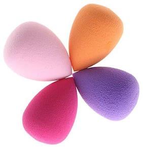 Faaa Makeup Beauty Foundation Cream Powder Liquid Blender Sponge/Puff (Pack of 4)