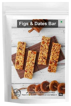 FabBox.in Health Bar - Figs & Dates 60 gm