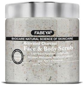 Fabeya Charcoal Scrub 340ml (Pack of 1)