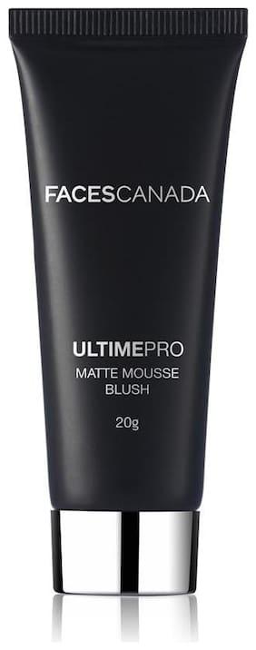 Faces Canada Ultime Pro Matte Mousse Blush (Pink) 20 g