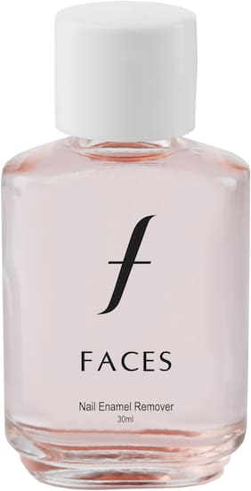 Faces Nail Enamel Remover Transparent 01 30 ml