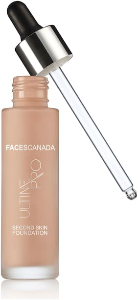 Faces Ultime Pro Second Skin Foundation Natural 02 30 ml