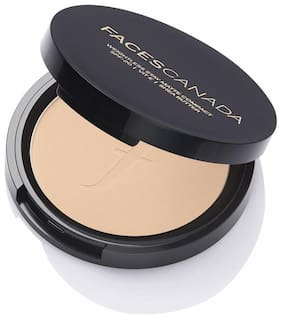 Faces Weightless Stay Matte Compact SPF-20 Vitamin E & Shea Butter 9g Ivory 01