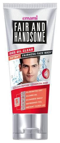 FAIR AND HANDSOME Face Wash - 100% Oil Clear 50 g