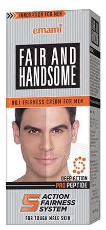 Fair And Handsome Fairness Cream - Deep Action  For Men 60 Gm