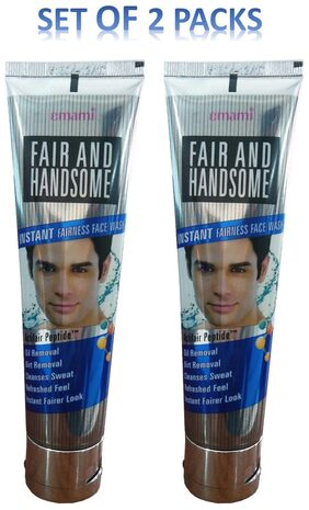 FAIR AND HANDSOME INSTANT FAIRNESS FACE WASH 100G PACK OF 2