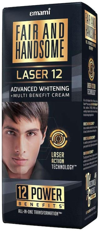 Fair And Handsome Laser 12 Advanced Whitening Multi - Benefit Cream 60 gm