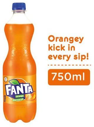 Fanta Soft Drink - Orange Flavour 750 ml