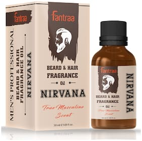 Fantraa Beard & Hair Fragrance Oil Nirvana 30 ml