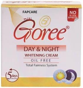 FApcARE Goree 100% original Goree Day & Night Whitening Cream  (30 g)