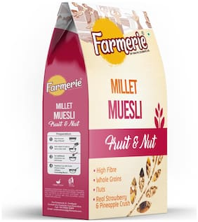 Farmerie Millet Muesli Fruit and Nut Breakfast Cereal and Snacks 400 g