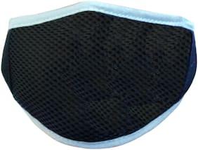 Fashno Half Face Mask For Dust Control (Black)
