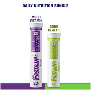 Fast&Up Daily Nutrition Bundle (Fortify + Vitalize) Pack of 2