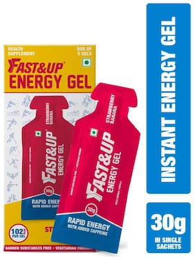 Fast&Up Energy Gel Strawberry Banana 150gm