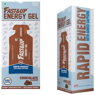 Fast&Up Energy Gel Chocolate 150gm (Pack of 5)