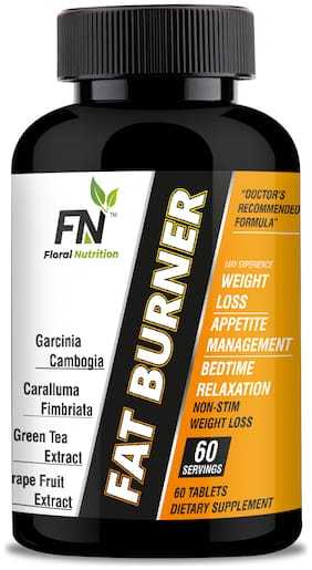 Fat Burner (Weight Loss) Garcinia, GreenTea, Moringa, Green Coffee for Women & Men  (60 Tablets)