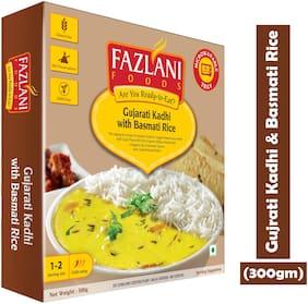 Fazlani  Foods Ready to Eat Gujarati Kadhi with Basmati Rice (300 g)