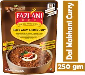 Fazlani Foods Ready To Eat Dal Makhani (Black Gram Lentils) Curry, (Pack Of 1, 250g)