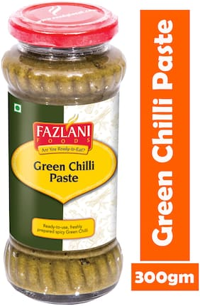FAZLANI FOODS Green Chilli Paste (300gm)