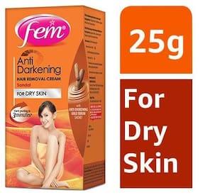 Fem Anti-Darkening Hair Removal Cream For Women - Sandal 25 gm