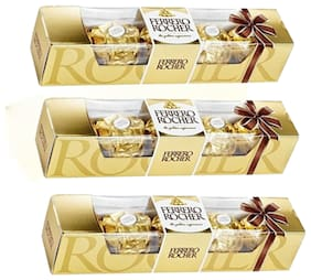 Ferrero Rocher T4 50g (Pack of 3)