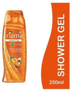 Fiama Shower Gel - Peach & Avocado (Mild Dew) 250 ml