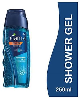 Fiama Shower Gel - Refreshing Pulse (For Men) 250 ml