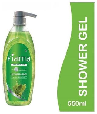 Fiama Shower Gel - Lemongrass & Jojoba (Clear Springs) 550 ml