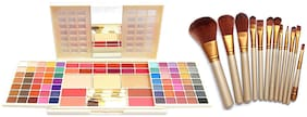 FIRSTZON  FZ-1236 MAKE UP KIT WITH MAKE UP BRUSH SET