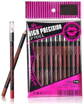 FIRSTZON HIGH PRECISION LIP LINER SET OF 12