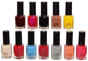 FIRSTZON NAIL COLOR COMBO SET OF 12 (12ml each) set001