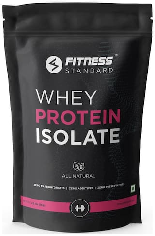 Fitness Standard Whey Protein Isolate 1Kg